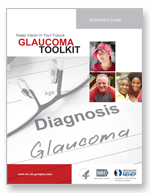 Glaucoma toolkit materials