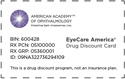 EyeCare America offers discount drug card