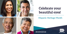 Celebra tus bellos ojos (Celebrate Your Beautiful Eyes) during National Hispanic Heritage Month
