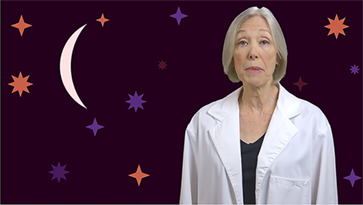 Dr. Cheri Wiggs explains what our eyes do while we sleep and why we can't see colors well in the dark.