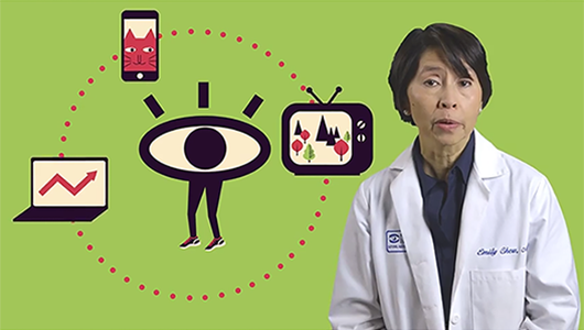 Dr. Emily Chew sheds light on common eye-related myths to tell us fact vs. fiction.