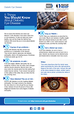 5 Things You Should Know About Diabetic Eye Disease