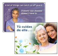 Send a Diabetic Eye Disease E-card