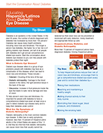 Educating Hispanics/Latinos About Diabetic Eye Disease