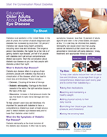 Educating Older Adults About Diabetic Eye Disease