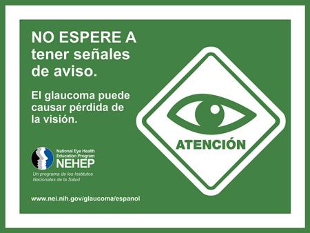 No espere a tener señales de aviso (don't wait for warning signs)