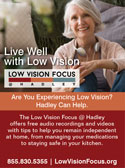 Listen Up: Low-Vision Audio Recordings Available Free to Public