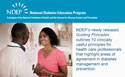 National Diabetes Education Program Releases New Guiding Principles on Diabetes Management and Prevention