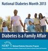 This National Diabetes Month, NDEP Reminds You Diabetes Is a Family Affair