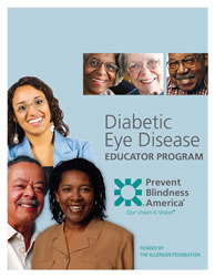 Diabetic Eye Disease Educator Program cover