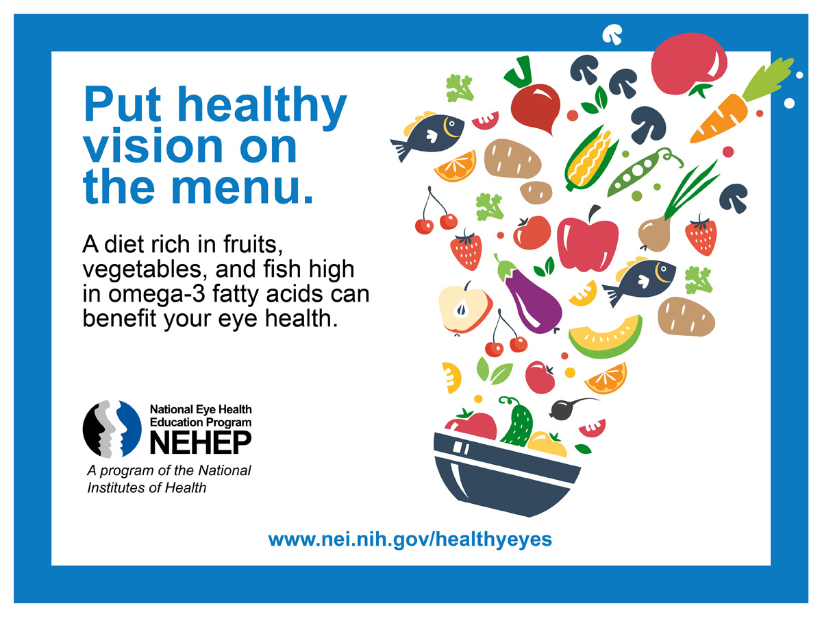 Put Healthy Vision On The Menu | National Eye Institute - photo#39