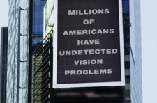 NEI Displays Eye Health PSA in Times Square