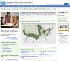 CDC Hosts New Health Literacy Website and Blog