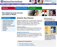 Diabetic Eye Disease Website