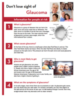 Thumbnail image of a glaucoma handout. For full handout content click on individual handout links.