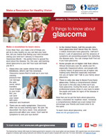 5 things to know about glaucoma