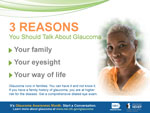 3 Reasons You Should Talk About Glaucoma (woman)
