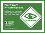 Warning signs of glaucoma image