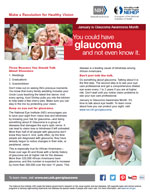 You could have glaucoma and not even know it: three reasons you should talk about glaucoma