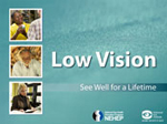 Thumbnail image of a Living With Low Vision Educational Module