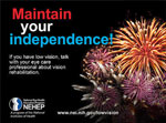 Maintain your independence! design 1