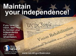 Maintain your independence! design 2