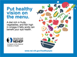 Put healthy vision on the menu