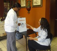 Student National Medical Association Uses NEHEP Materials in Beauty Shops