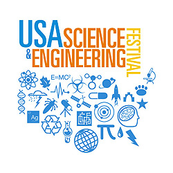 USA Science Engineering Festival Logo