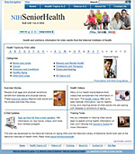 Eye Information Available in NIHSeniorHealth.gov Website