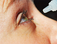 clinical study of a new eye drop may offer hope to patients with dry eye. photo courtesy of patrick walderzak.