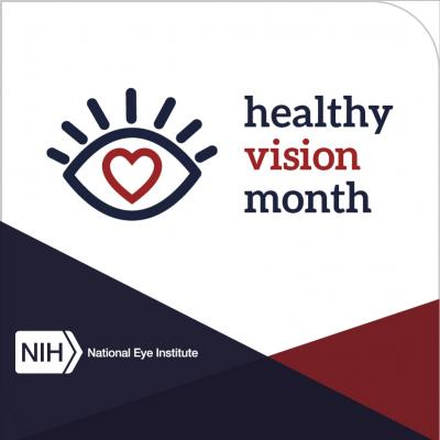 Healthy Vision Month logo