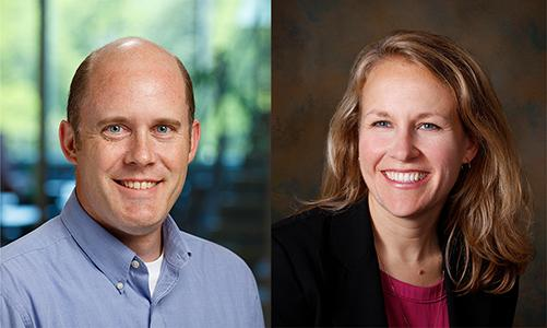 Photos of Principal Investigators: Joseph Carroll, Medical College of Wisconsin; Jacque Duncan, University of California San Francisco