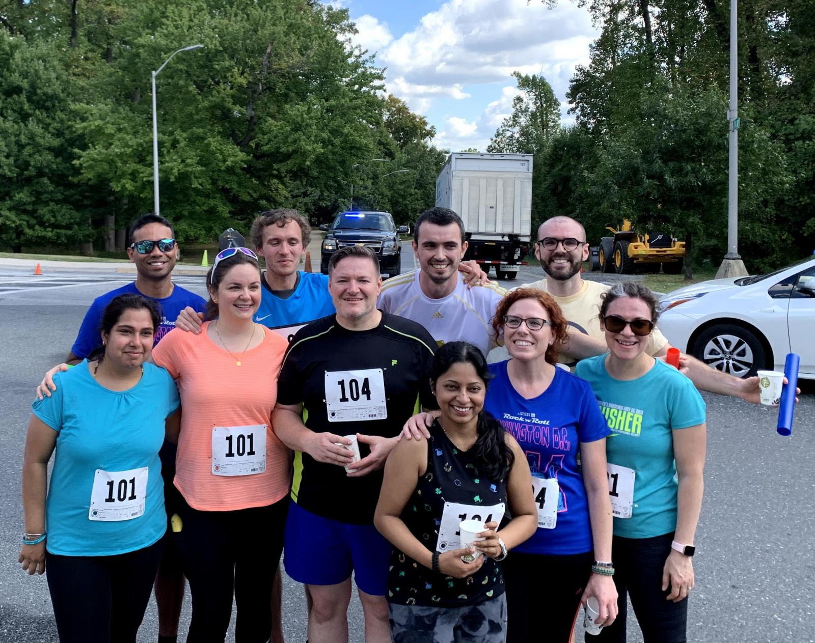 NNRL members competed in the 26th annual NIH relay