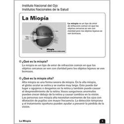 La Miopía (Nearsightedness)