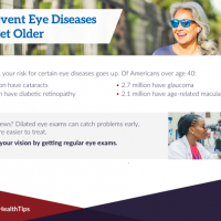 Handout on preventing eye disease