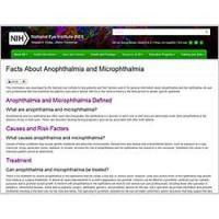 Anophthalmia and Microphthalmia