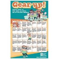 Children's Eye Safety - Gear Up! Poster