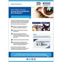 How Much Do You Know about Diabetic Eye Disease?