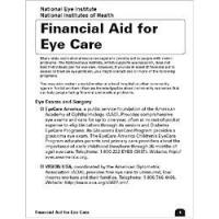 Financial Aid for Eye Care